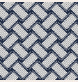 abstract wicker rattan seamless pattern vector image vector image