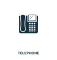 devicestelephone icon line style icon design ui vector image