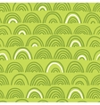 Doodle seamless wave pattern vector image vector image