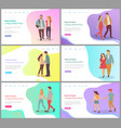 feelings boyfriend and girlfriend lover vector image vector image
