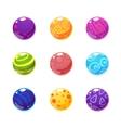 Multicolor Balls Set vector image