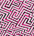 pink maze seamless texture vector image