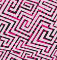 pink maze seamless texture vector image