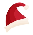 Santa hat icon cartoon style vector image vector image