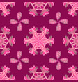tender seamless pattern with flowers floral in vector image