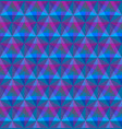 triangular geometric seamless pattern vector image vector image