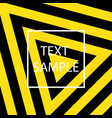 yellow and black texture vector image
