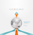 infographics set and Information vector image
