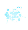 abstract watercolor stain vector image