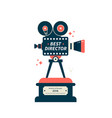 best director film award icon or symbol vector image