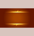 brown background with glowing light effect design vector image vector image