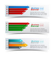 business colorful infographics vector image
