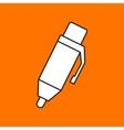 pen icon Eps10 vector image