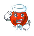 sailor mars planet character cartoon vector image vector image