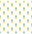 sand cactus pot pattern seamless vector image vector image