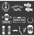 collection vintage retro labels logotypes and vector image