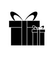 gift boxes present isolated vector image vector image