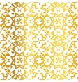 Golden On White Abstract Kaleidoscope vector image vector image