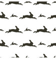 image pattern hare in different directions vector image vector image