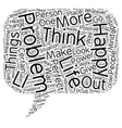 Inside Out Empowerment text background wordcloud vector image