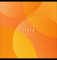 orange abstract background graphic design vector image vector image