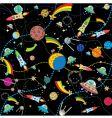 cosmos wallpaper vector image