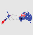 airplane travel from new zealand to australia