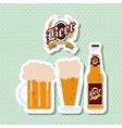 Beer icon design editable vector image