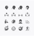 corona covid19 virus icons flat line design vector image vector image