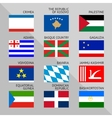 Flags of world 18 vector image vector image