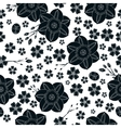 Floral spring seamless background vector image vector image