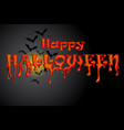 halloween night party background vector image vector image