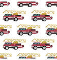 image pattern groups red fire trucks vector image vector image