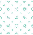 network icons pattern seamless white background vector image vector image