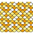 Seamless Fish Scale Pattern vector image vector image