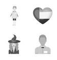 trade magic and other monochrome icon in cartoon vector image vector image
