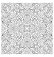 Coloring book page for adult square form vector image