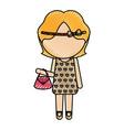 avatar stylish cartoon girl
