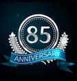 eighty five years anniversary celebration design vector image vector image
