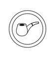pipe icon image vector image vector image