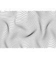 trendy 3d cover background design line black curve