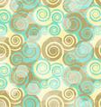 vintage spiral grunge seamless vector image vector image