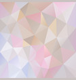 abstract polygon background pastel colored vector image vector image