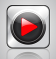 app media player vector image vector image