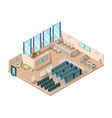 data center computers server rooms interior vector image