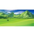 Mountain landscape vector | Price: 3 Credits (USD $3)