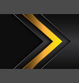 red dark yellow arrow direction with grey blank vector image vector image