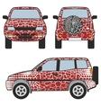 Safafi car vector image vector image