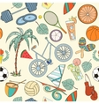 Seamless sport pattern vector image