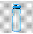sports bottle for water vector image vector image